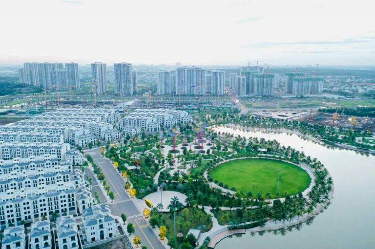 Thực tế xây dựng biệt thự Vinhomes Grand Park