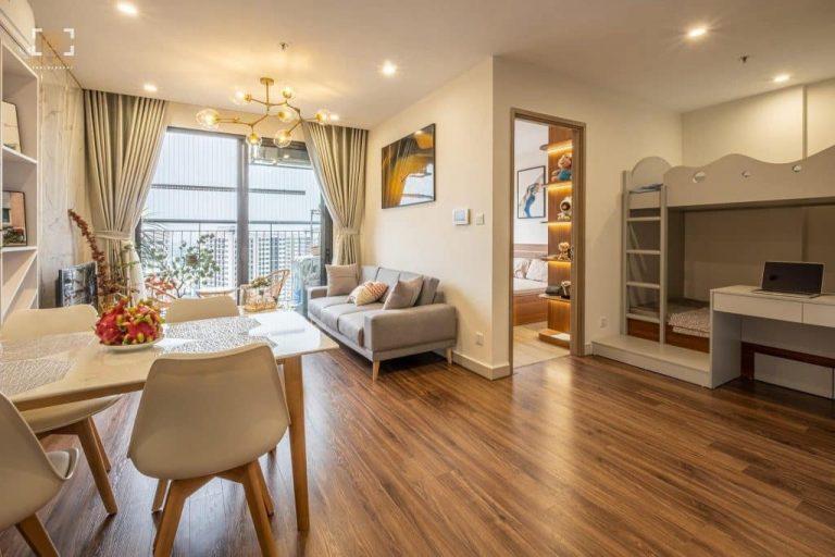 Bố trí căn hộ 1 phòng ngủ Vinhomes Grand Park